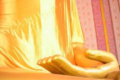 Άγαλμα του Βούδα δάχτυλων εστίασης Στοκ φωτογραφίες με δικαίωμα ελεύθερης χρήσης