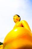 Άγαλμα του Βούδα, μεγάλο χρυσό άγαλμα του Βούδα στην Ταϊλάνδη Στοκ εικόνες με δικαίωμα ελεύθερης χρήσης