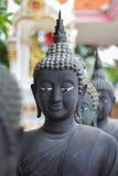 Άγαλμα του Βούδα που χρωματίζεται όπως το Μαύρο Στοκ Φωτογραφία