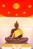 Άγαλμα του Βούδα σε Wat Phra Mahathat Στοκ Φωτογραφίες