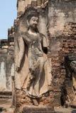 Άγαλμα του Βούδα σε Wat Phra Sri Rattana Mahathat Στοκ Εικόνα