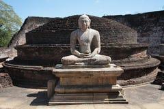 Άγαλμα του Βούδα, Σρι Λάνκα Στοκ Εικόνες