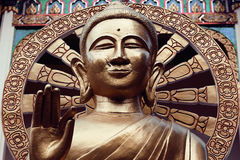 Άγαλμα του Βούδα στην Ταϊλάνδη, Koh Samui νησιών στοκ εικόνα