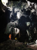 Άγαλμα του Βούδα στη σπηλιά Στοκ Εικόνα