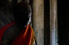 Άγαλμα του Βούδα στους βουδιστικούς ναούς angkor wat στην Καμπότζη Ασία Στοκ φωτογραφία με δικαίωμα ελεύθερης χρήσης