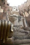 Άγαλμα του Βούδα στο ιστορικό πάρκο Sukhothai, Sukhot Στοκ Φωτογραφία