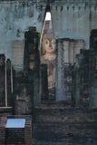 Άγαλμα του Βούδα στο ιστορικό πάρκο Sukhothai, Sukhot στοκ εικόνες με δικαίωμα ελεύθερης χρήσης