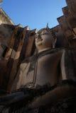 Άγαλμα του Βούδα στο ιστορικό πάρκο Sukhothai, Sukhot στοκ εικόνες