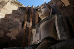 Άγαλμα του Βούδα στο ιστορικό πάρκο Sukhothai, Sukhot Στοκ εικόνα με δικαίωμα ελεύθερης χρήσης