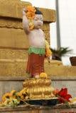 Άγαλμα του Βούδα στο Κατμαντού, Νεπάλ Στοκ Εικόνα