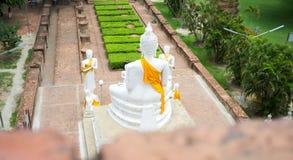 Άγαλμα του Βούδα στο ναό, Ayutthaya, Ταϊλάνδη Στοκ Εικόνες