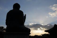 Άγαλμα του Βούδα στο ναό Gakwonsa Στοκ φωτογραφία με δικαίωμα ελεύθερης χρήσης