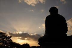 Άγαλμα του Βούδα στο ναό Gakwonsa Στοκ Εικόνες