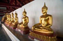 Άγαλμα του Βούδα στο ναό Si Rattana Mahathat Wat Phra Στοκ Φωτογραφία