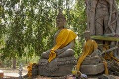 Άγαλμα του Βούδα στο ναό Wat Ratchaburana, Phichit, Ταϊλάνδη Στοκ φωτογραφία με δικαίωμα ελεύθερης χρήσης