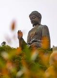 Άγαλμα του Βούδα στο Χονγκ Κονγκ Στοκ Εικόνες
