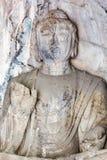 Άγαλμα του Βούδα στο grotto των σπηλιών Longmen Στοκ εικόνες με δικαίωμα ελεύθερης χρήσης