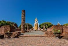 Άγαλμα του Βούδα στο Si Rattana Mahathat Phra wat Στοκ Φωτογραφίες