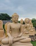 Άγαλμα του Βούδα, Ταϊλάνδη Στοκ Φωτογραφίες
