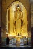 Άγαλμα του Βούδα του ναού Ananda Στοκ Φωτογραφία