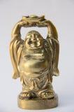 Άγαλμα του Βούδα χαμόγελου Στοκ Εικόνες