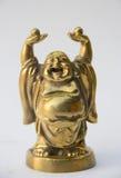 Άγαλμα του Βούδα χαμόγελου Στοκ Εικόνα