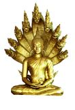 Άγαλμα του Βούδα στοκ εικόνες