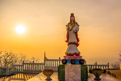 Άγαλμα του Βούδα Guanyin Στοκ εικόνες με δικαίωμα ελεύθερης χρήσης