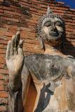 Άγαλμα του Βούδα Sukhothai Στοκ φωτογραφία με δικαίωμα ελεύθερης χρήσης