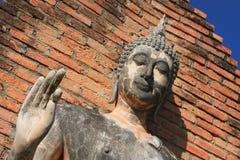 Άγαλμα του Βούδα Sukhothai Στοκ εικόνα με δικαίωμα ελεύθερης χρήσης