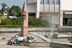 Άγαλμα του γενικού Μ ρ Stefanik Στοκ φωτογραφία με δικαίωμα ελεύθερης χρήσης