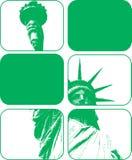 Άγαλμα του διανυσματικού σχεδίου Clipart ελευθερίας Στοκ Φωτογραφίες