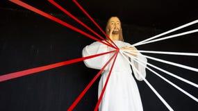 Άγαλμα του Ιησούς Χριστού Στοκ Φωτογραφίες