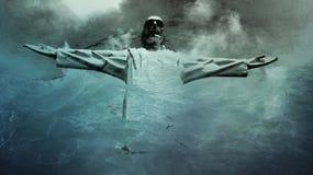Άγαλμα του Ιησούς Χριστού Στοκ Εικόνες
