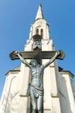 Άγαλμα του Ιησούς Χριστού Στοκ Φωτογραφία