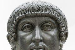 Άγαλμα του κολοσσού του Constantine ο μεγάλος στη Ρώμη, Ιταλία Στοκ εικόνες με δικαίωμα ελεύθερης χρήσης