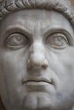 Άγαλμα του κολοσσού του Constantine ο μεγάλος στη Ρώμη, Ιταλία Στοκ Εικόνες