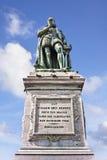 """Άγαλμα του κρησφύγετου Eerste†, ιδρυτής """"Willem των Κάτω Χωρών, Χάγη, οι Κάτω Χώρες Στοκ Εικόνα"""