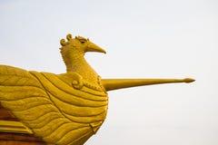 Άγαλμα του Κύκνου στο τόξο Στοκ φωτογραφίες με δικαίωμα ελεύθερης χρήσης