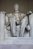 Άγαλμα του Λίνκολν στο μνημείο του Λίνκολν, Washington DC, ΗΠΑ Στοκ φωτογραφία με δικαίωμα ελεύθερης χρήσης