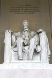 Άγαλμα του Λίνκολν Στοκ φωτογραφία με δικαίωμα ελεύθερης χρήσης