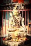 Άγαλμα του Λόρδου Shiva σε Pokhara Στοκ φωτογραφία με δικαίωμα ελεύθερης χρήσης