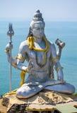 Άγαλμα του Λόρδου Shiva στο ναό Murudeshwar Στοκ φωτογραφία με δικαίωμα ελεύθερης χρήσης