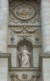 Άγαλμα του Νώε δίπλα στο μουσείο Βιέννη φυσικής ιστορίας Στοκ Φωτογραφία