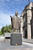 Άγαλμα του Πάπαντος Ιωάννης Παύλος Β', Πόλη του Μεξικού Στοκ Εικόνες