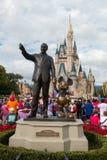 Άγαλμα του παγκόσμιου Mickey Mouse της Disney, ταξίδι του Ορλάντο Φλώριδα Στοκ Εικόνα