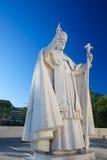 Άγαλμα του παπά Pius ΧΙΙ στη Fatima, Πορτογαλία Στοκ εικόνες με δικαίωμα ελεύθερης χρήσης