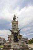Άγαλμα του πρίγκηπα Henry στο μνημείο πλοηγών στο τετράγωνο κήπων Στοκ φωτογραφίες με δικαίωμα ελεύθερης χρήσης