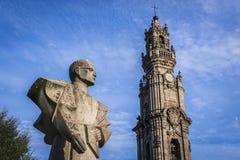 άγαλμα του Πόρτο Στοκ φωτογραφία με δικαίωμα ελεύθερης χρήσης