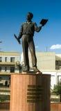 Άγαλμα του ρωσικού ποιητή Pushkin- 06 03 2011 Asmara, Eritrea Στοκ Εικόνες